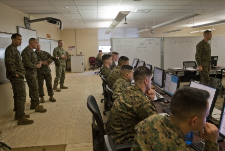 Photo by Lance Cpl. Amy Plunkett, Marine Corps Combat Service Support Schools. The appearance of U.S. Department of Defense (DoD) visual information does not imply or constitute DoD endorsement.